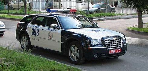 Полицейские тачки