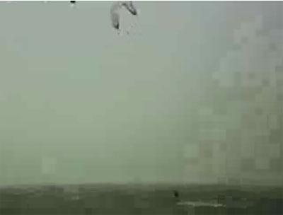 Отдых на море.. На парашуте можно и улететь.