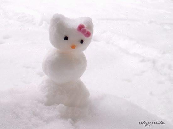 Обезьяна из снега своими руками фото
