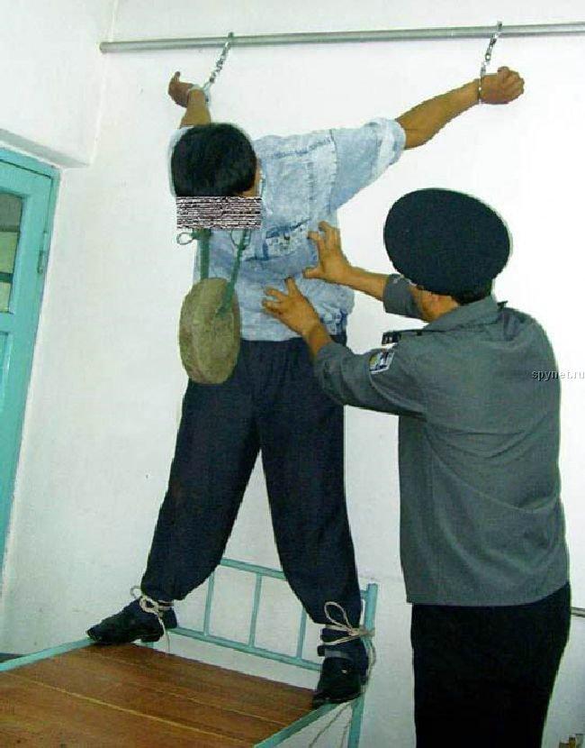 Пытки в китайских тюрьмах (13 фото) .
