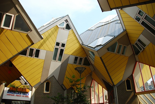 9. Cubic Houses (Rotterdam, Netherlands)