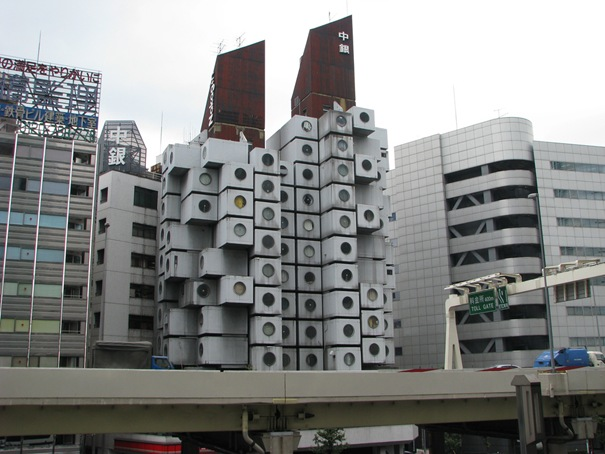 16. Nakagin Capsule Tower (Tokyo, Japan)