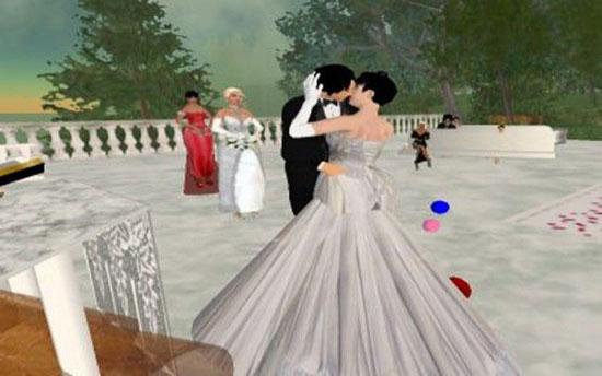 Свадьба онлайн (6 фото)