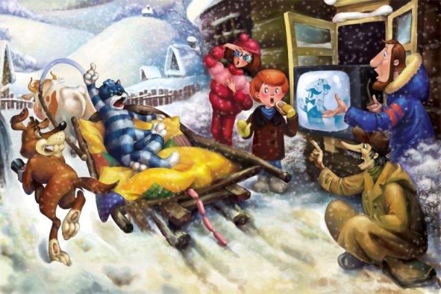 Герои мультфильмов на новый лад (30 фото)