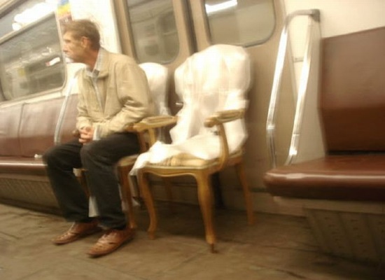 Необычные люди из метро (26 фото)