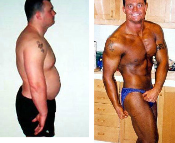 фото до и после спортзала