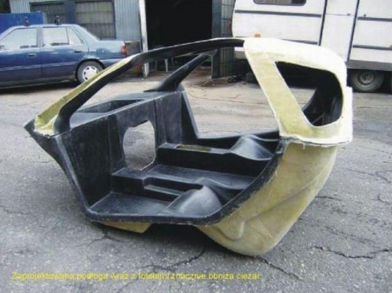 Автомобиль сделанный своими руками - В ажуре