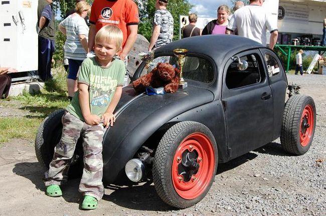 Как сделать машину сыну