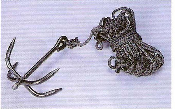 Как сделать абордажный крюк своими руками