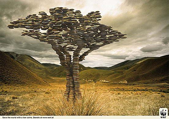 Антиреклама в защиту природы и