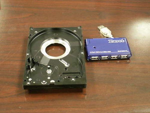 Внешний жесткий диск своими руками фото