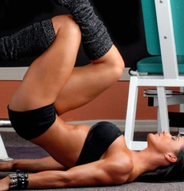 Как занимаются девушки фитнесом фото