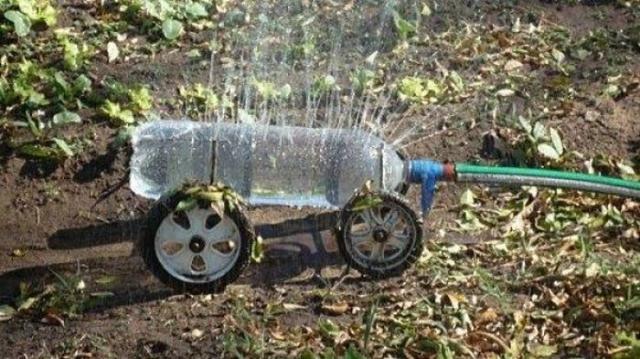 Автоматический распылитель своими руками