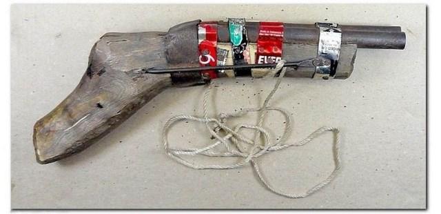 Самодельное огнестрельное оружие из дерева своими руками