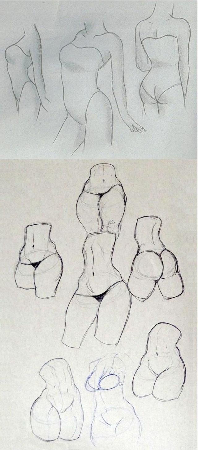 Нарисовать женское тело эротика фото 231-308