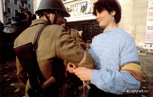 Румы́нская револю́ция 1989 го́да (56 фото + видео)