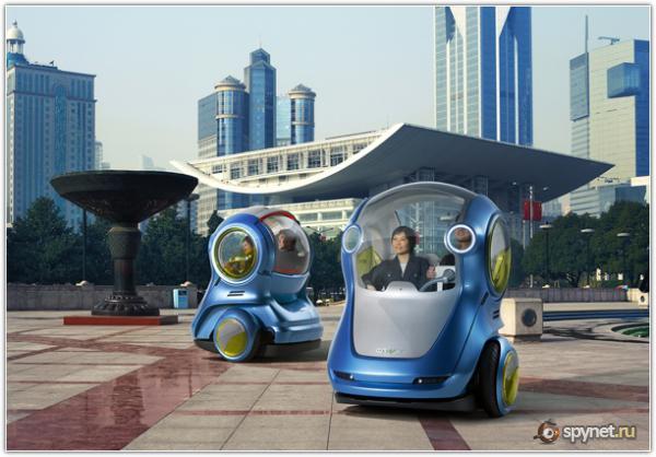 Автомобиль будущего от GM