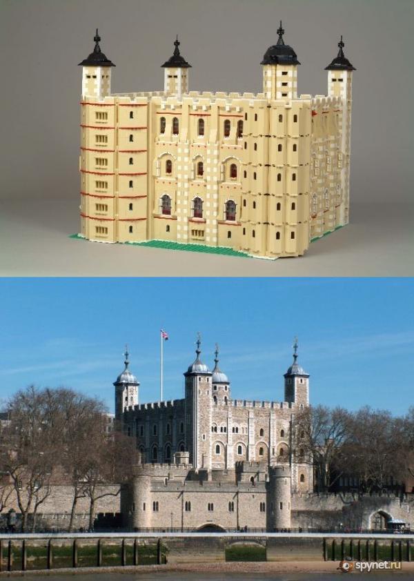 Изумительные поделки из Lego