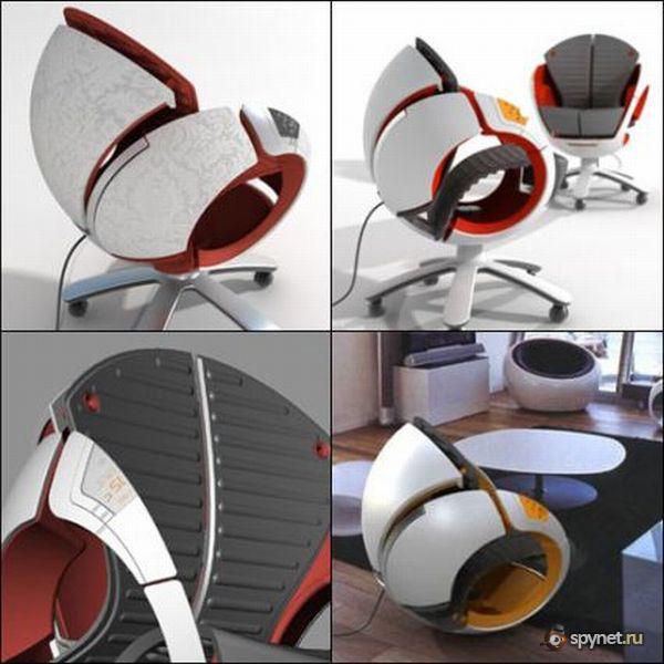 Креативные стулья и кресла