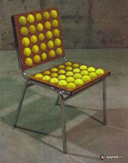 Кресло из подручных материалов фото