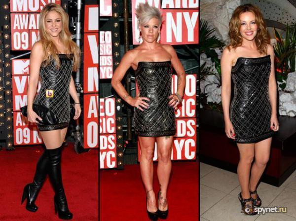 Голливудские звёзды в одинаковых нарядах