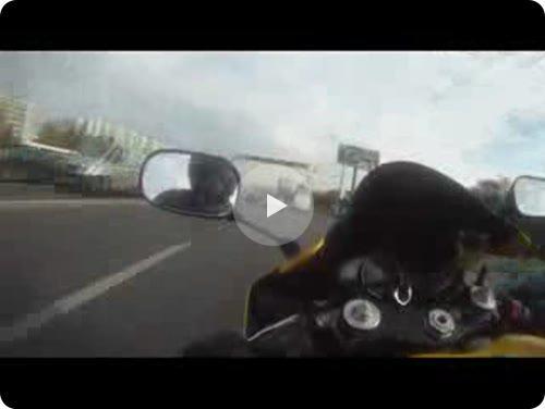 Несколько минут из жизни русского мотоциклиста