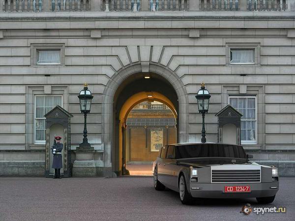 Концепт-автомобиль президента России (8 фото)
