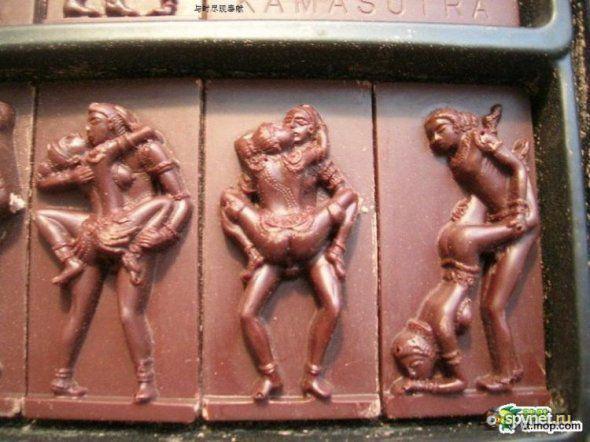 Китайский подарочный шоколад (6 фото) .