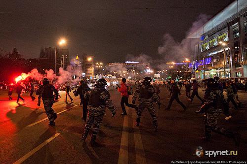 Беспорядки в Москве, продолжение (29 фото)