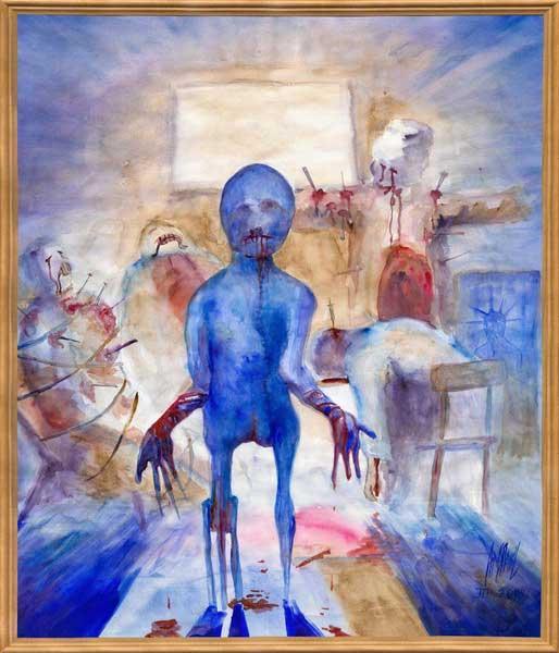 О рисунках душевнобольных людей