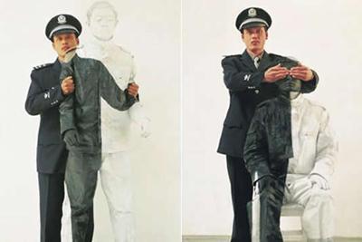 Китайский человек-невидимка (25фото)