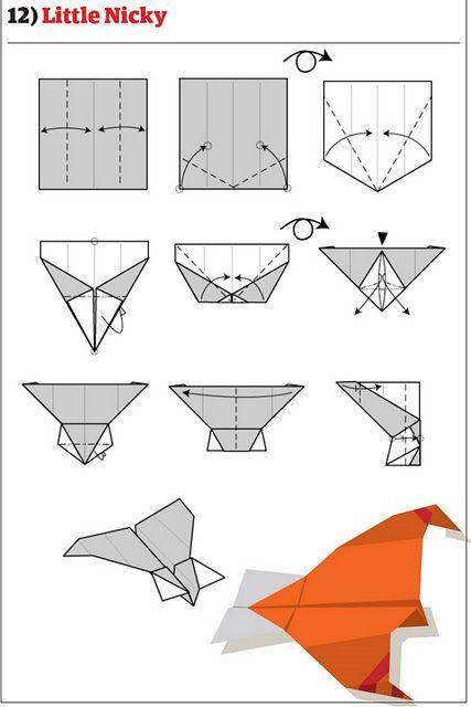 Как сделать самолет из бумаги который летает