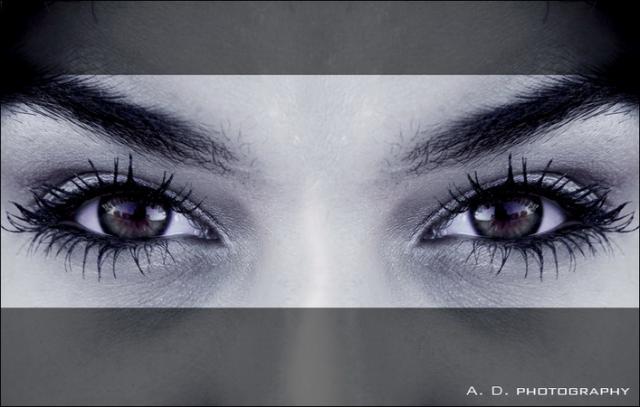 """А вы знаете, что у вас есть """"слепое пятно"""" в глазу? Тест"""