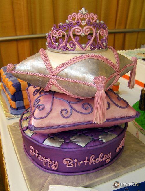 Необычный торт на день рождения фото