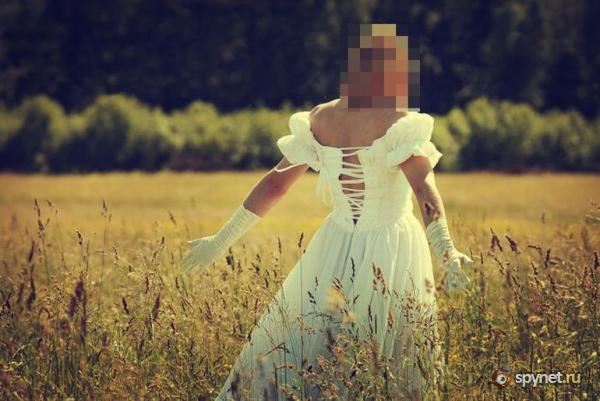 Самая необычная невеста (51 фото)
