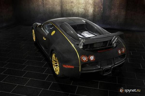 Bugatti Veyron в золоте (17 фото)