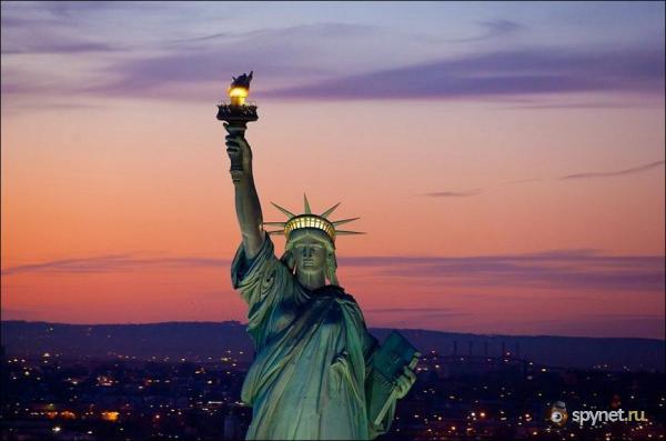 Ночной Нью-Йорк (47 фото)
