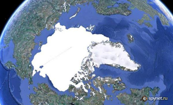 Как изменился Северный полюс за 10 лет (3 фото)