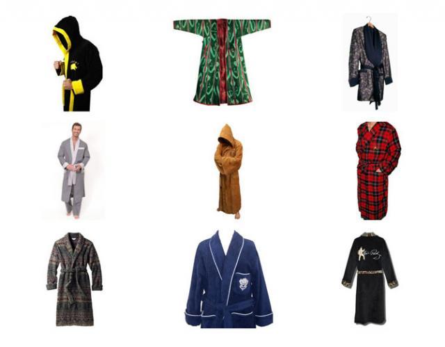 9 мужских халатов, достойных внимания