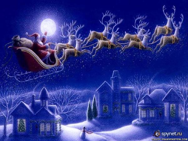 Волшебство на рождество - версии ученых )))