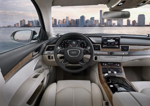 Audi официально представила новую A8.
