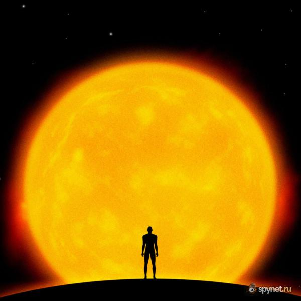 Солнечный круг небо вокруг или