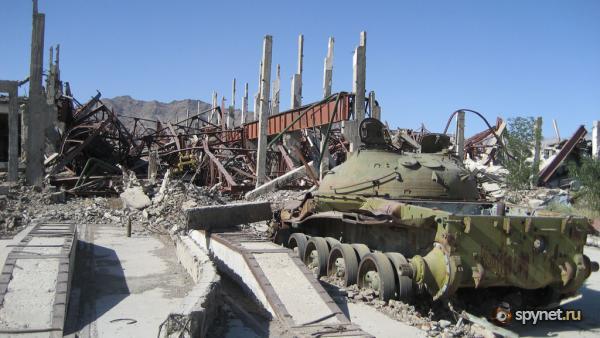 Брошенная Советская военная техника. Афганистан