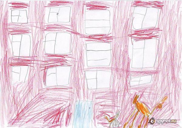 Детские рисунки (12 шт)