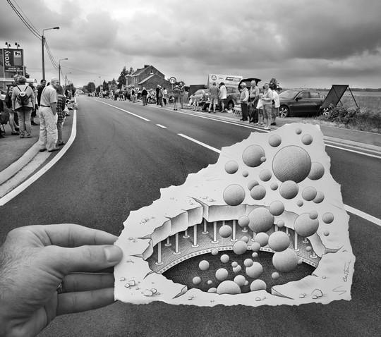 Креативный художник-фотограф Бен Хайне (54 фото)