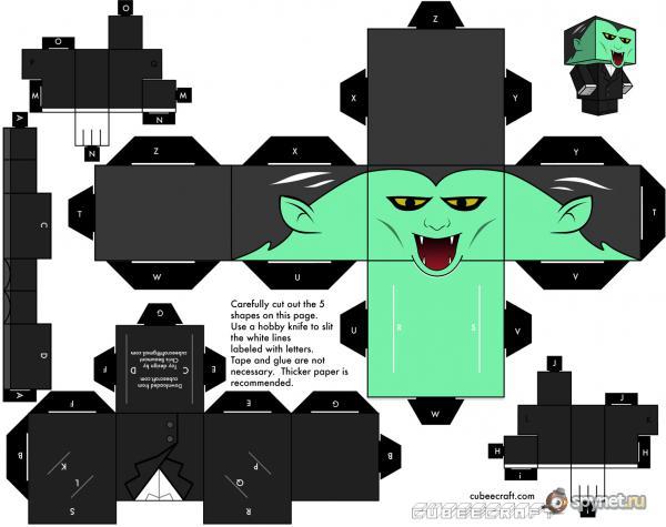 CubeCraft Paper Toys IV.