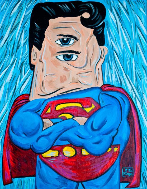 Супергерои в стиле Пикассо 823f34a072
