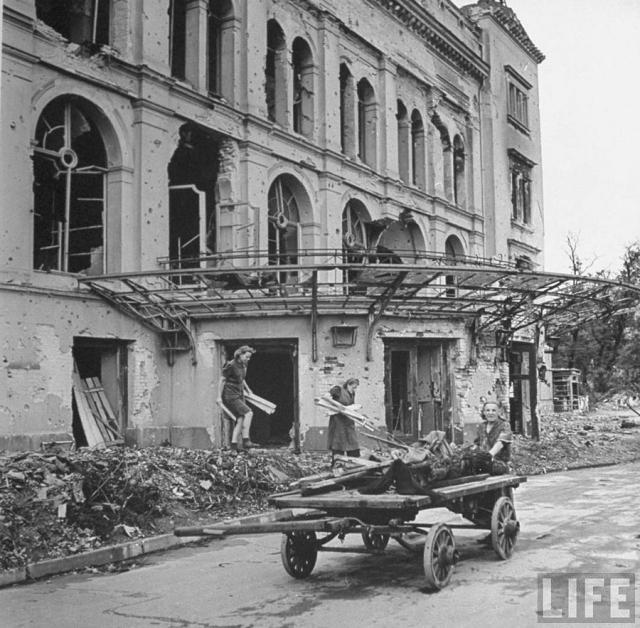 Поверженный Берлин летом 1945-го