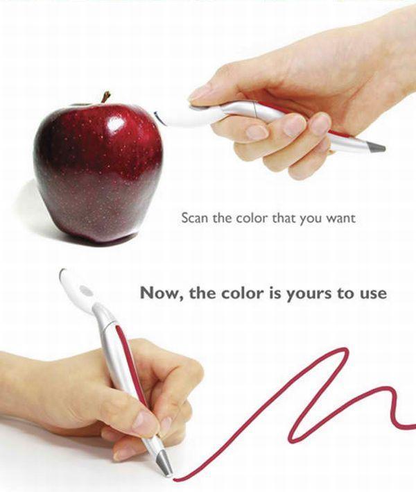 Концептуальный подбиратель цвета (4 фото)