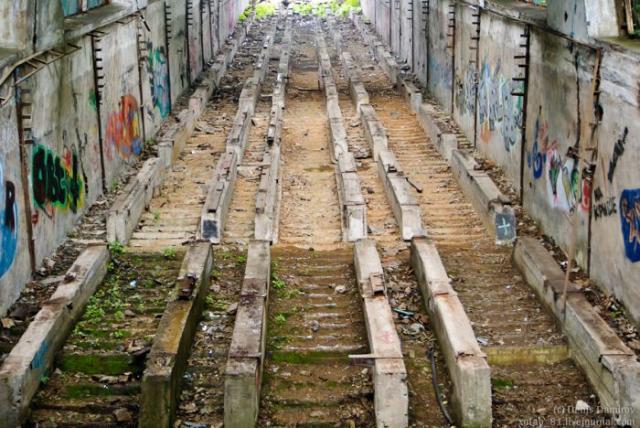 Заброшенная станция метро в Москве